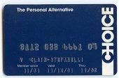 view Choice Credit Card -- Valid 11/81 thru 11/82 digital asset number 1
