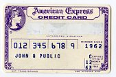 view Sample American Express Credit Card, United States, 1963 digital asset number 1