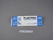 view B-D Plastipak Disposable Tuberculin Syringe, 1 cc. 25G. 5/8 digital asset number 1