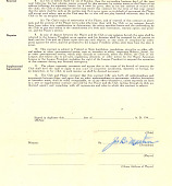 view Negro League baseball contract digital asset number 1