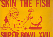 view Washington Redskins Super Bowl XVII Poster digital asset number 1