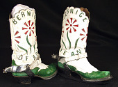 view Cowboy Boots worn by Rodeo Star and Trick Rider Bernice Dean digital asset number 1