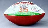 """view Football presented to Bear Bryant after becoming the """"winningest"""" coach in NCAA football history digital asset number 1"""