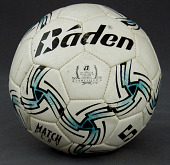 view Soccer ball used by Kevin Rogers during the 1998 Jefferson County Soccer League season digital asset number 1