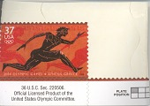 view Commemorative stamp from the 2004 Summer Olympics in Athens digital asset number 1