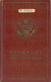 view Passport Issued to Benjamin Levine, Coach and Manager in Amateur Boxing digital asset number 1