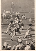 view Babe Diedrikson postcard from the 1932 Summer Olympic Games digital asset number 1