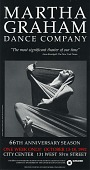 view Martha Graham Dance Company digital asset: Advertisement, Martha Graham