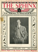 view The Sphinx - The Official Organ of the Society of American Magicians digital asset: Magazine, The Sphinx