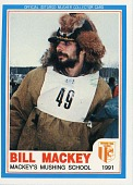 view Bill Mackey 1991 Iditarod sports card digital asset: Iditarod Trading card