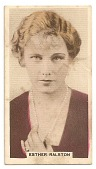 view Esther Ralston cinema card digital asset number 1