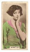 view Myrna Loy cinema card digital asset number 1