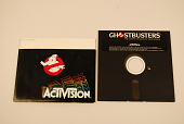 view Ghostbusters Computer Game digital asset: Ghostbusters game outside protective sleeve