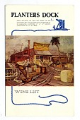 view Planters Dock Wine List digital asset number 1
