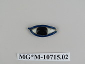 view amulet, Egyptian, eye digital asset number 1