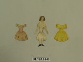 view doll, paper digital asset number 1