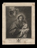 view Virgin & Infant Jesus Asleep digital asset number 1