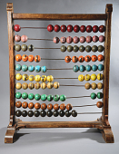 view Desktop Numeral Frame or Abacus digital asset: Desktop Numeral Frame or Abacus