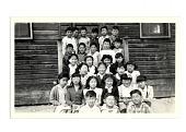 view picture, elementary school children, Heart Mountain, 1940s digital asset number 1