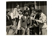 view picture, Heart Mountain high school students, Heart Mountain, June 1943 digital asset number 1