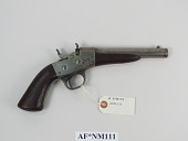 view Remington 1867 Navy Rolling Block Pistol digital asset number 1