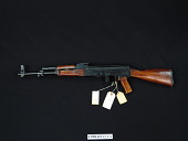 view North Korean AKM Automatic Rifle digital asset number 1