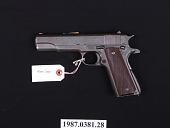 view M1911A1 Semiautomatic Pistol digital asset number 1
