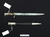 view German Police Service Knife and Scabbard digital asset number 1