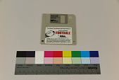 view The Maxell Two-Minute Warning Edition of John Madden Football computer game for IBM PC/XT/AT, PS/2 30, Tandy 4000.3000.1000 and Compaq digital asset number 1