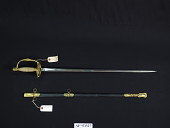 view Ames Sword Co. Model 1860 Staff and Field Officer's Sword digital asset number 1