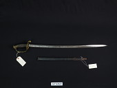 view Ames Manufacturing Co. Model 1850 Foot Officer's Sword digital asset number 1