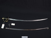 view Ames Manufacturing Co. Model 1840/1851 Heavy Cavalry Saber digital asset number 1