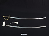 view Ames Manufacturing Co. Model 1860/1859 Light Cavalry Saber digital asset number 1