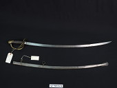 view Ames Manufacturing Co. Model 1860/1862 Light Cavalry Saber digital asset number 1