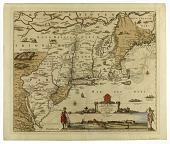 view Novi Belgii, Novaeque Angliae nec non partis Virginiae Tabula... digital asset number 1