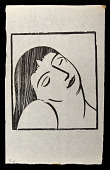 view Sleep digital asset: Woodcut by Benjamin Miller, 'Sleep,' 1927