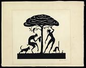 view Spring digital asset: Drawing by Benjamin Miller, 'Spring,' ca 1920