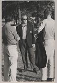 view Roone Arledge digital asset: Photograph by Ken Regan, Roone Arledge, president of ABC Sports
