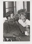 view Bob Hope and Phyllis Diller digital asset: Photograph by Ken Regan, Bob Hope and Phyllis Diller, comedians