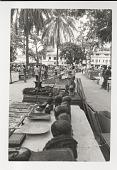 view Ivory Market digital asset: Photograph by Ken Regan, Ivory Market, Kinshasa, Zaire, Africa, 1974