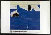 view Poster for the 1984 Summer Olympic Games held in Los Angeles, California digital asset: 1984 Summer Olympic Games Poster, design by Richard Diebenkorn