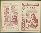 view <i>Law of the Tropics</i> movie program digital asset number 1