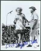 view Signed Photograph of Phyllis Diller and Bob Hope digital asset number 1