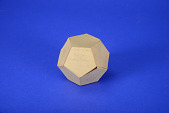 view Geometric Model by E. Summers, a Student of A. Harry Wheeler, Regular Dodecahedron digital asset: Geometric Model by E. Summers, a Student of  A. Harry Wheeler, Regular Dodecahedron