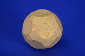 view Geometric Model by Knowlton Rice, A Student of A. Harry Wheeler, Rhombtruncated Icosidodecahedron digital asset: Geometric Model by Knowlton Rice, a Student of A. Harry Wheeler, Rhombitruncated Icosidodecahedron