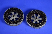 view Two Hebern Electric Code Cipher Machine Rotors digital asset: Two Hebern Electric - Super Code Cipher Machine Rotors