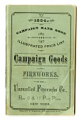 view Trade Catalog, Unexcelled Fireworks Company, 1884 digital asset number 1