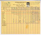 view Berkeley Public Schools grades at Willard Middle School, Berkeley, California, 08/25/1941 digital asset number 1