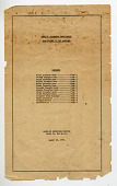 view document, List of Internees from Hawaii transferring to the Mainland, Santa Fe Detention Station in New Mexico, 08/10/1944 digital asset number 1