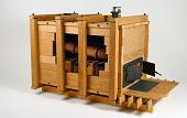 view Model of a Wooden Steam Boiler digital asset: Wooden Steam Boiler